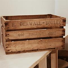 木箱(2つ)