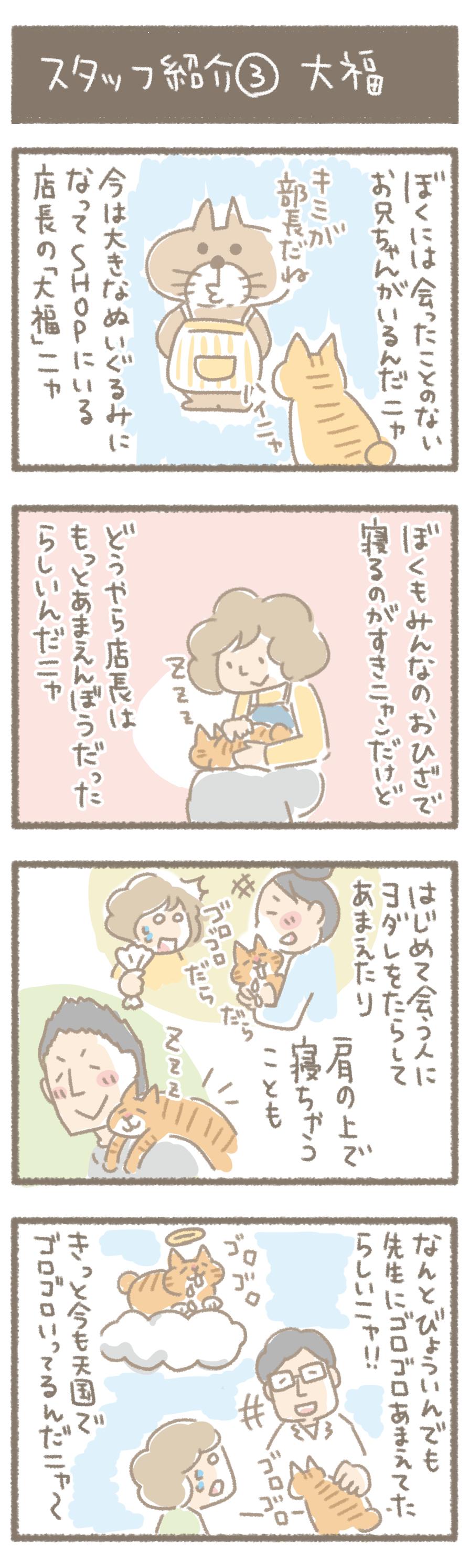 スタッフ紹介③大福