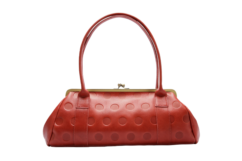 Candy Gamaguchi purse / Cherry Red