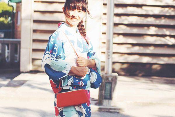 """夏祭りに持っていきたい、浴衣に似合う""""革バッグ""""と小物たち"""