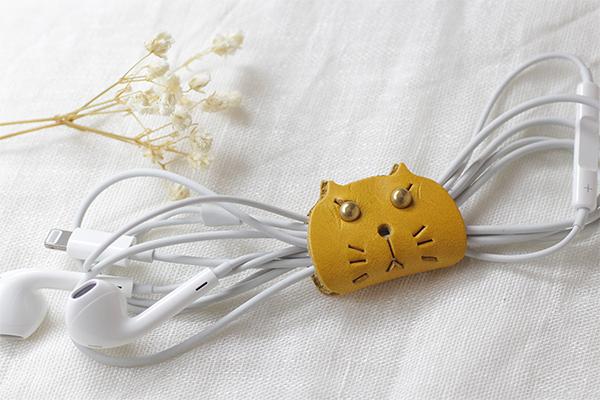 ネコ コードホルダー(M)